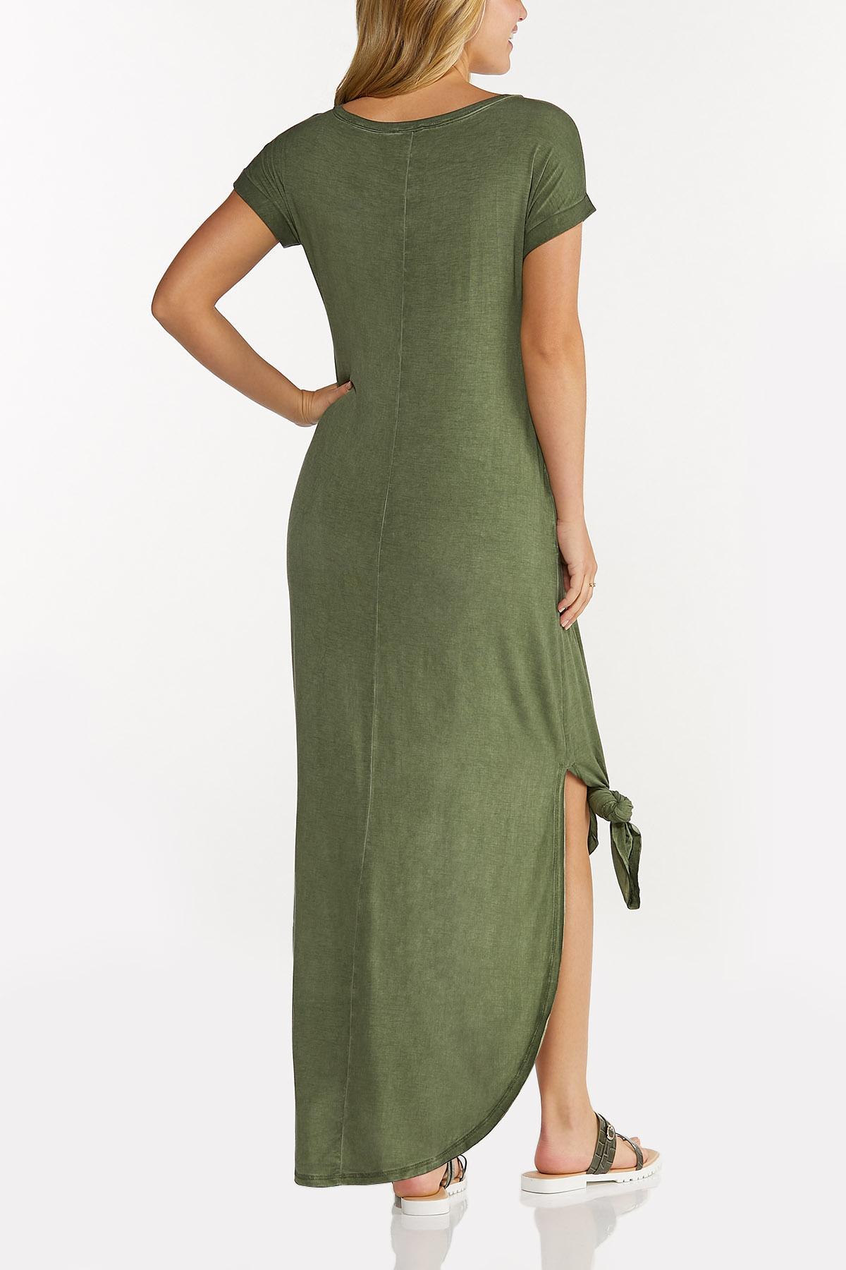 Cutout Tee Maxi Dress (Item #44635329)