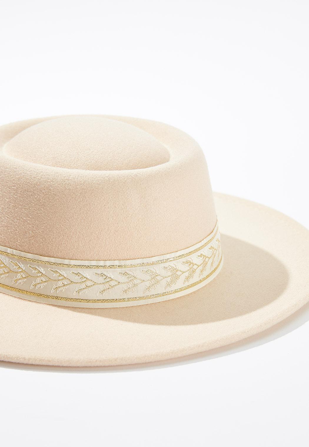 Fabric Band Fashion Hat (Item #44636819)