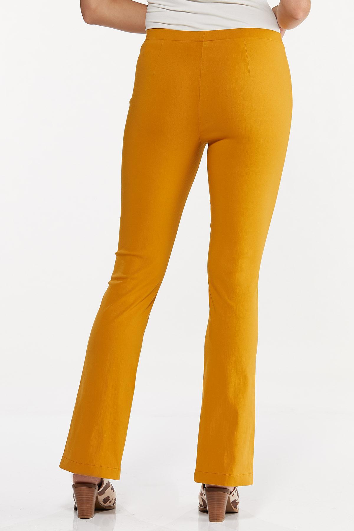 Slit Hem Bootcut Pants (Item #44636893)