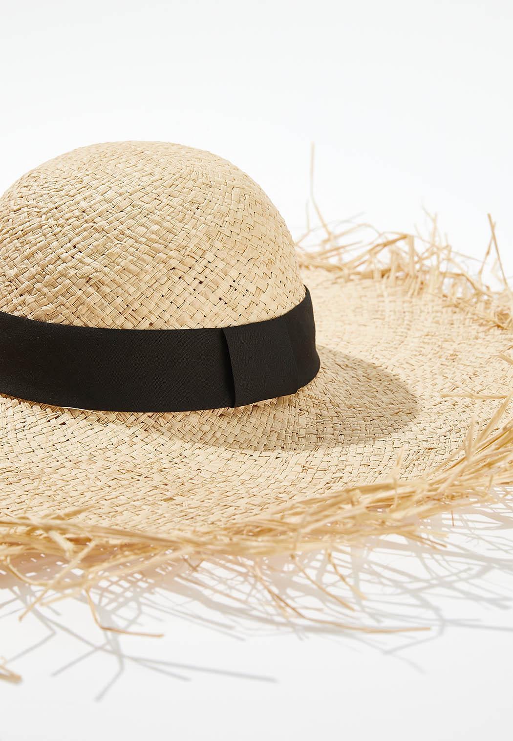 Oversized Straw Floppy Hat (Item #44637657)