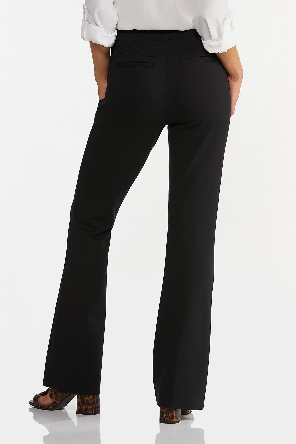 Pintucked Ponte Pants (Item #44640503)