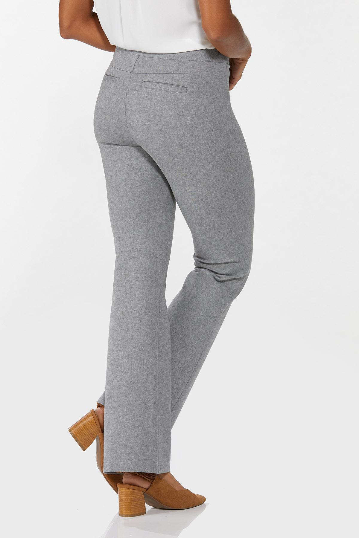Petite Pintucked Ponte Pants (Item #44640531)