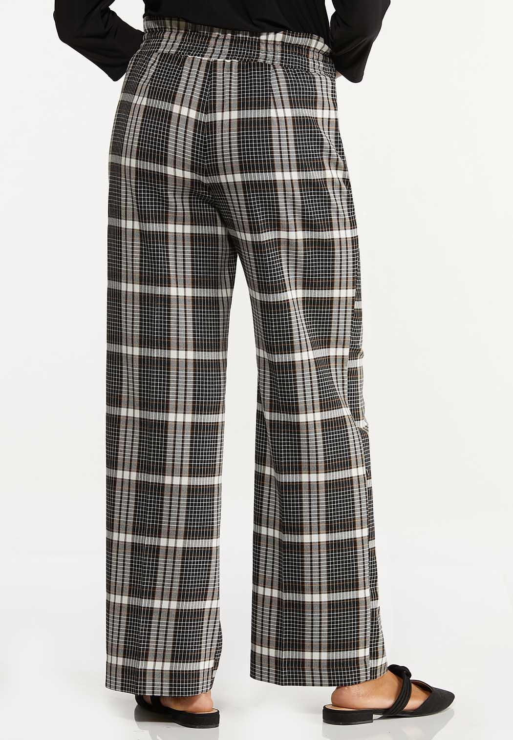 Plaid Trouser Pants (Item #44641001)