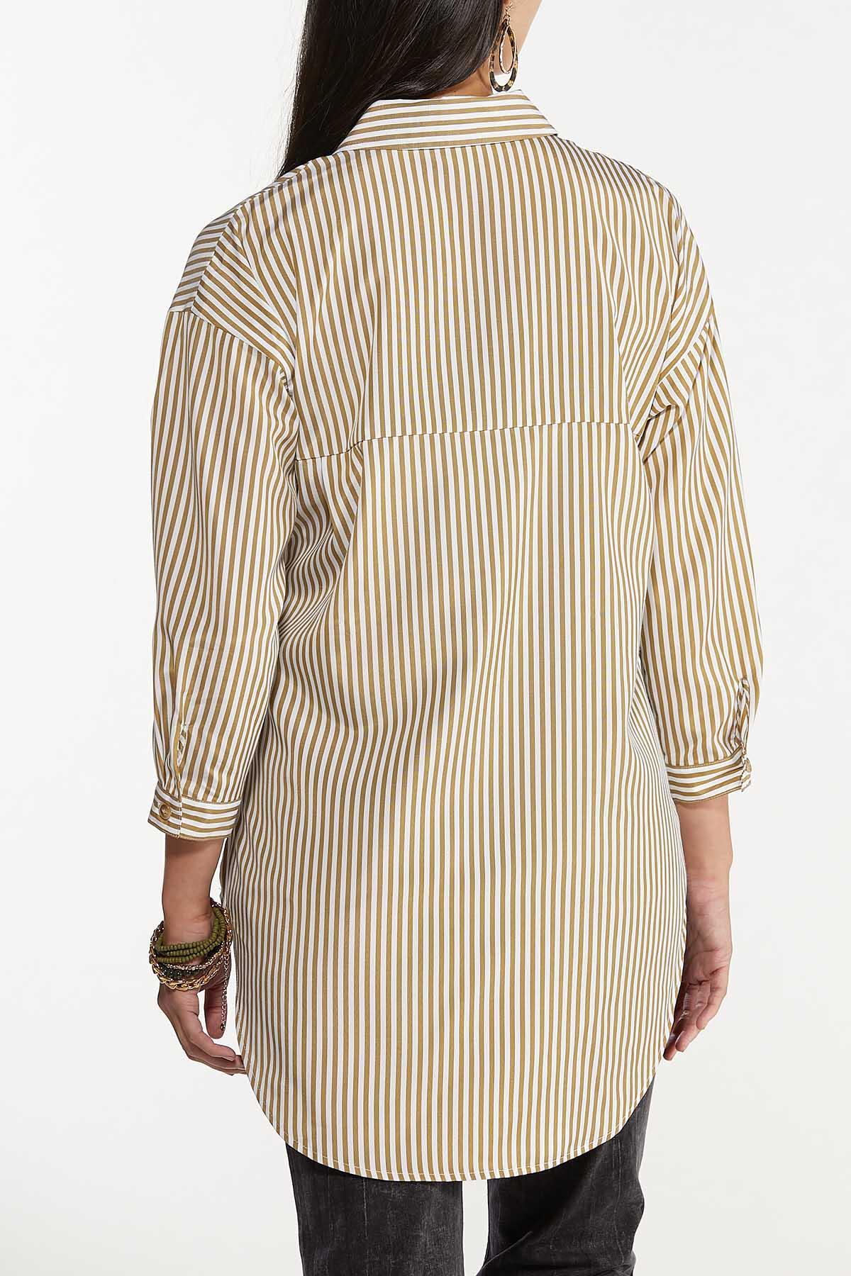 Oversized Stripe Tunic (Item #44641208)