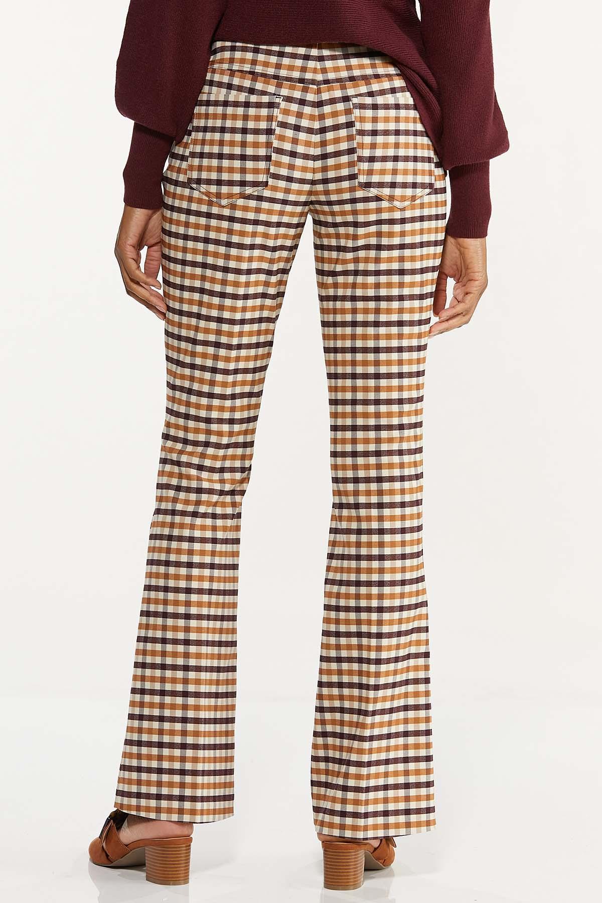 Petite Plaid Bengaline Pants (Item #44641414)