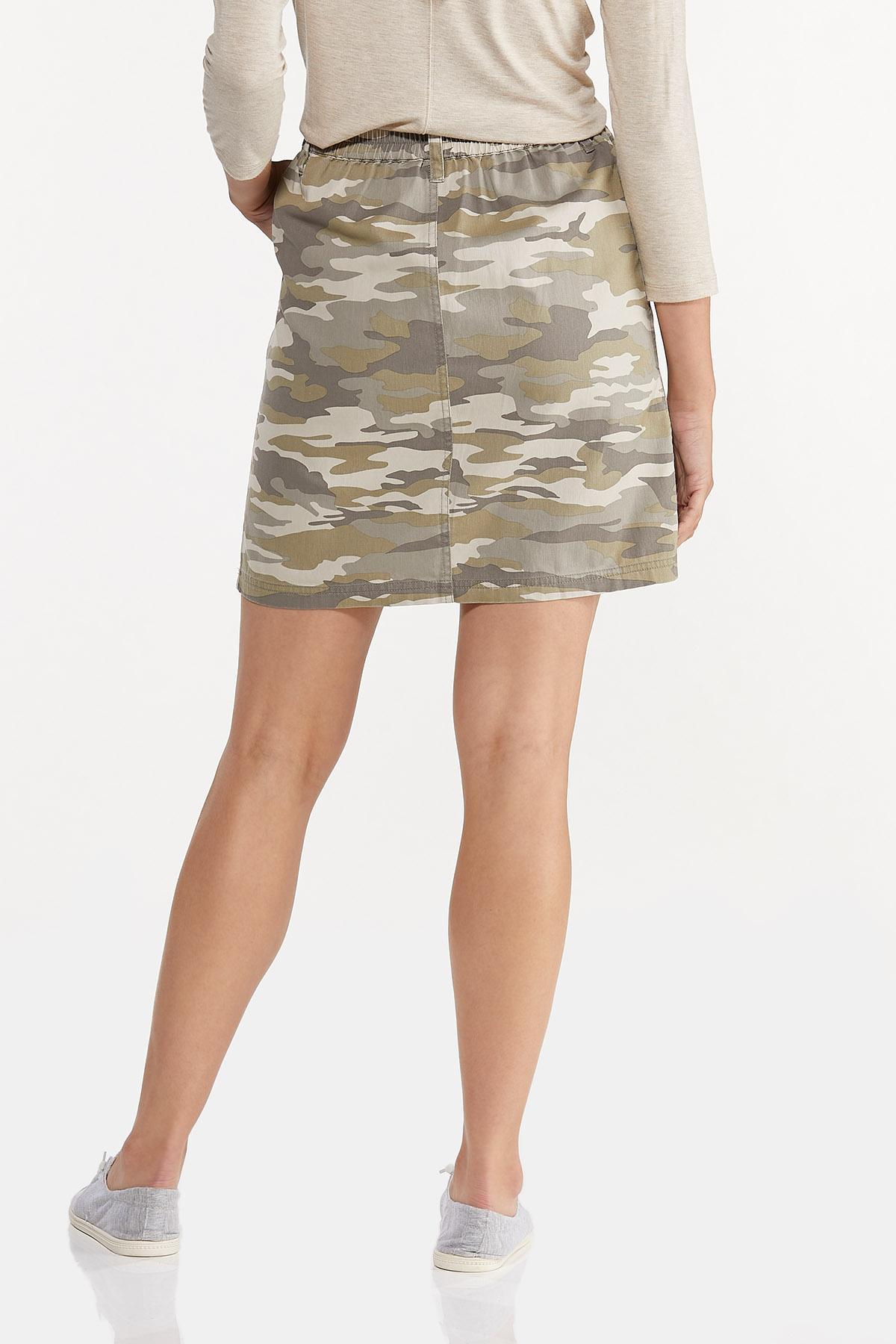 Camo Mini Skirt (Item #44643144)