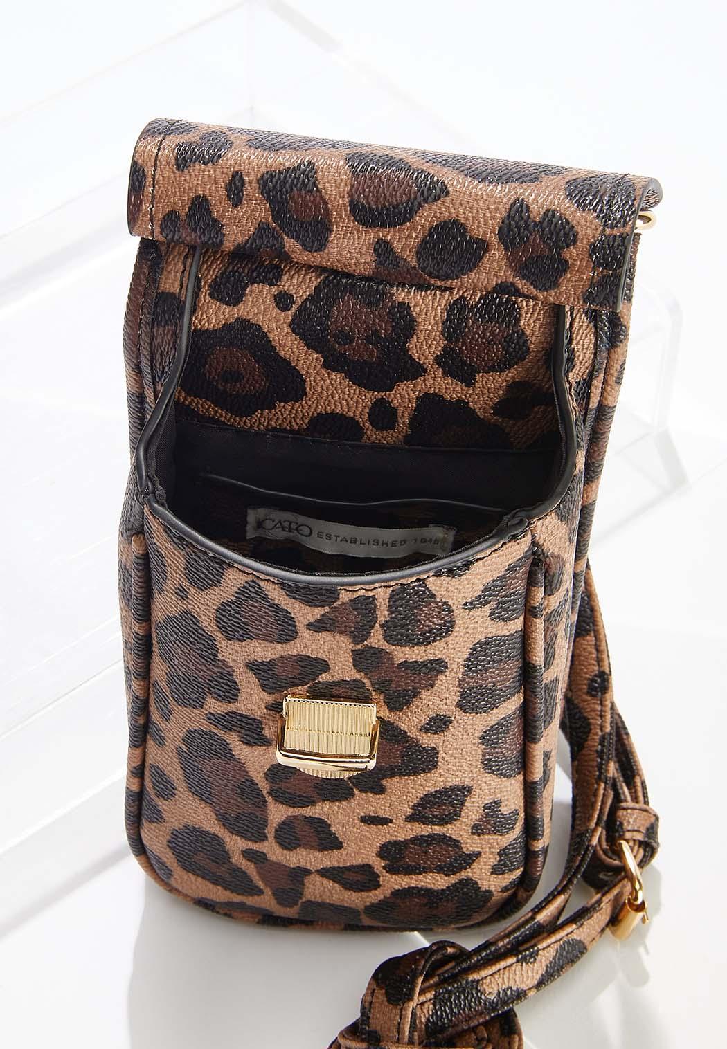 Leopard Cellphone Crossbody (Item #44644071)