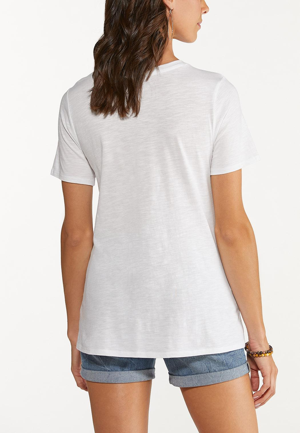 Plus Size Take The Scenic Route Tee (Item #44644546)
