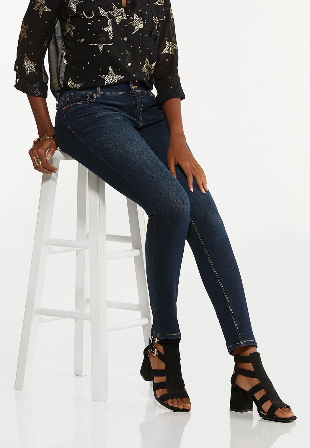 Petite Shape Enhancing Skinny Jeans (Item #44644841)