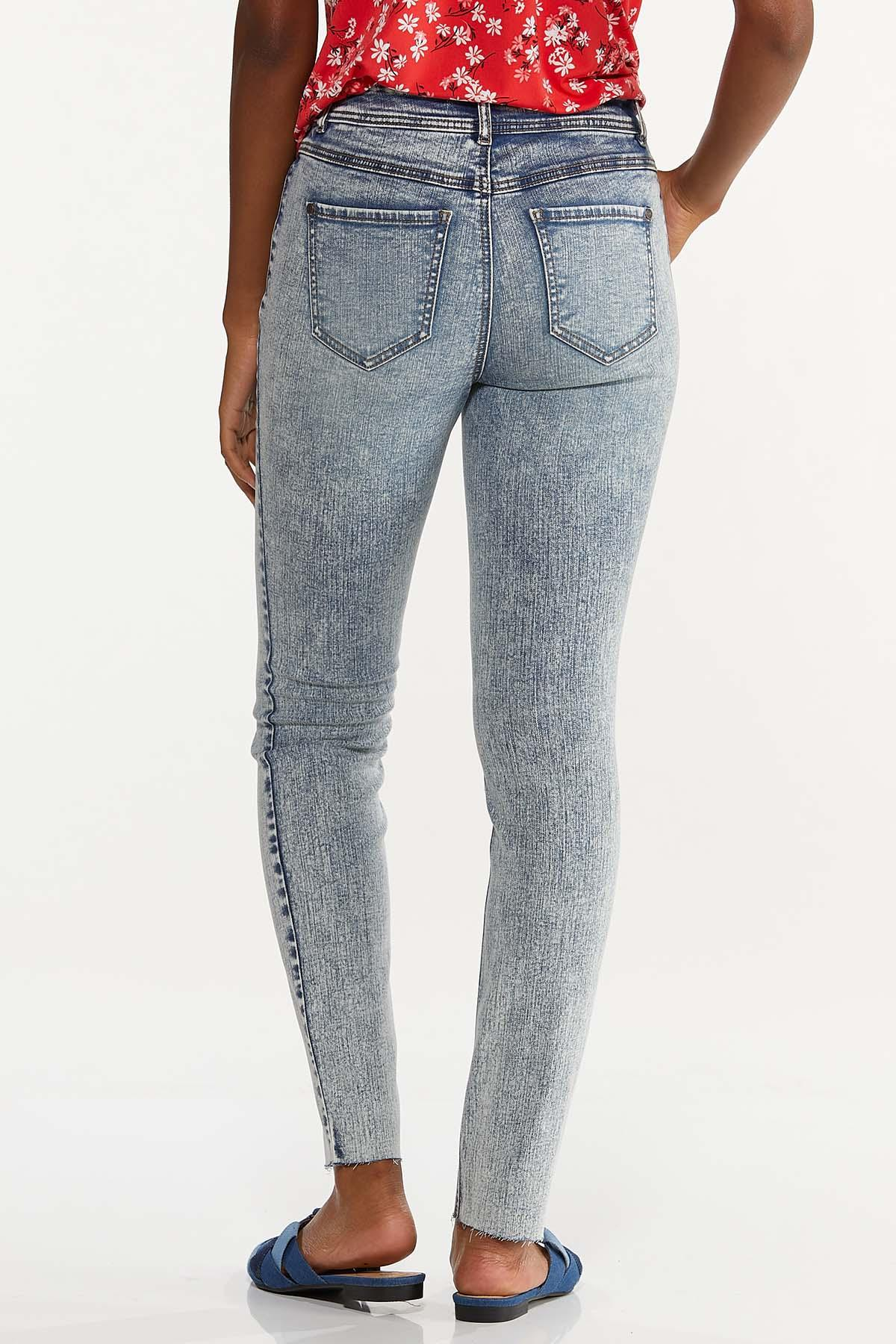 Acid Wash Skinny Jeans (Item #44644890)
