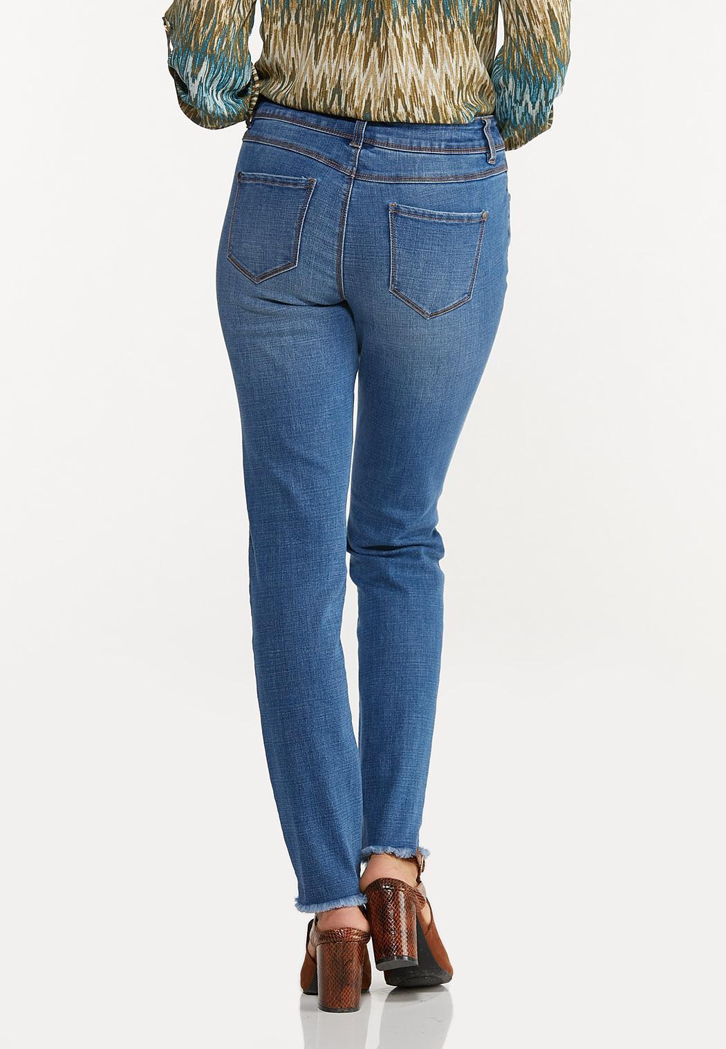 Frayed Skinny Jeans (Item #44644912)