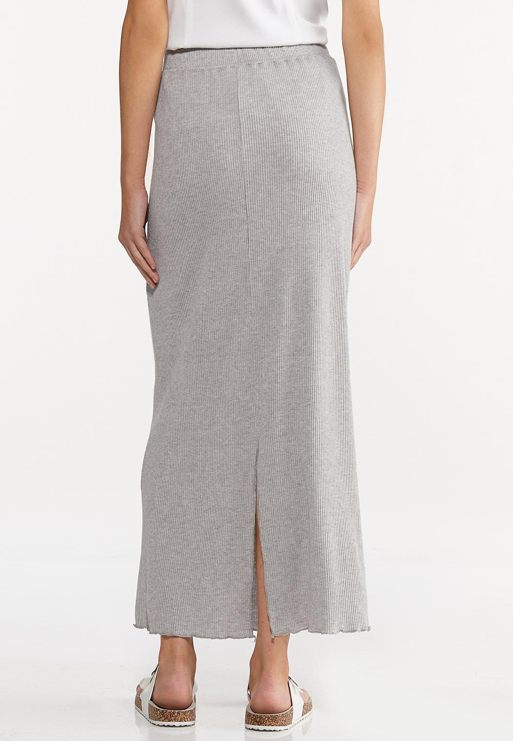 Tie Waist Maxi Skirt (Item #44645761)