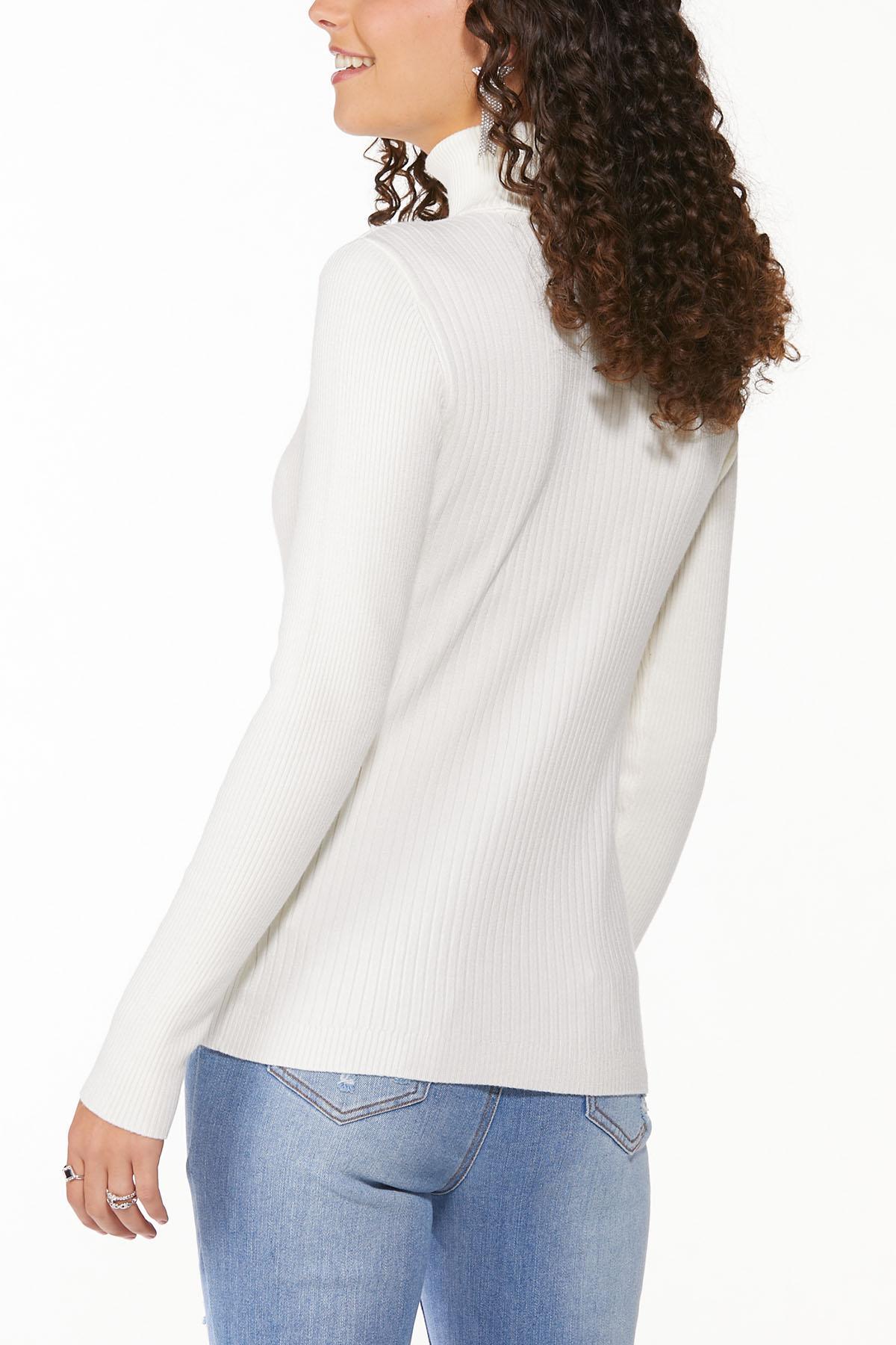Ribbed Turtleneck Sweater (Item #44646872)