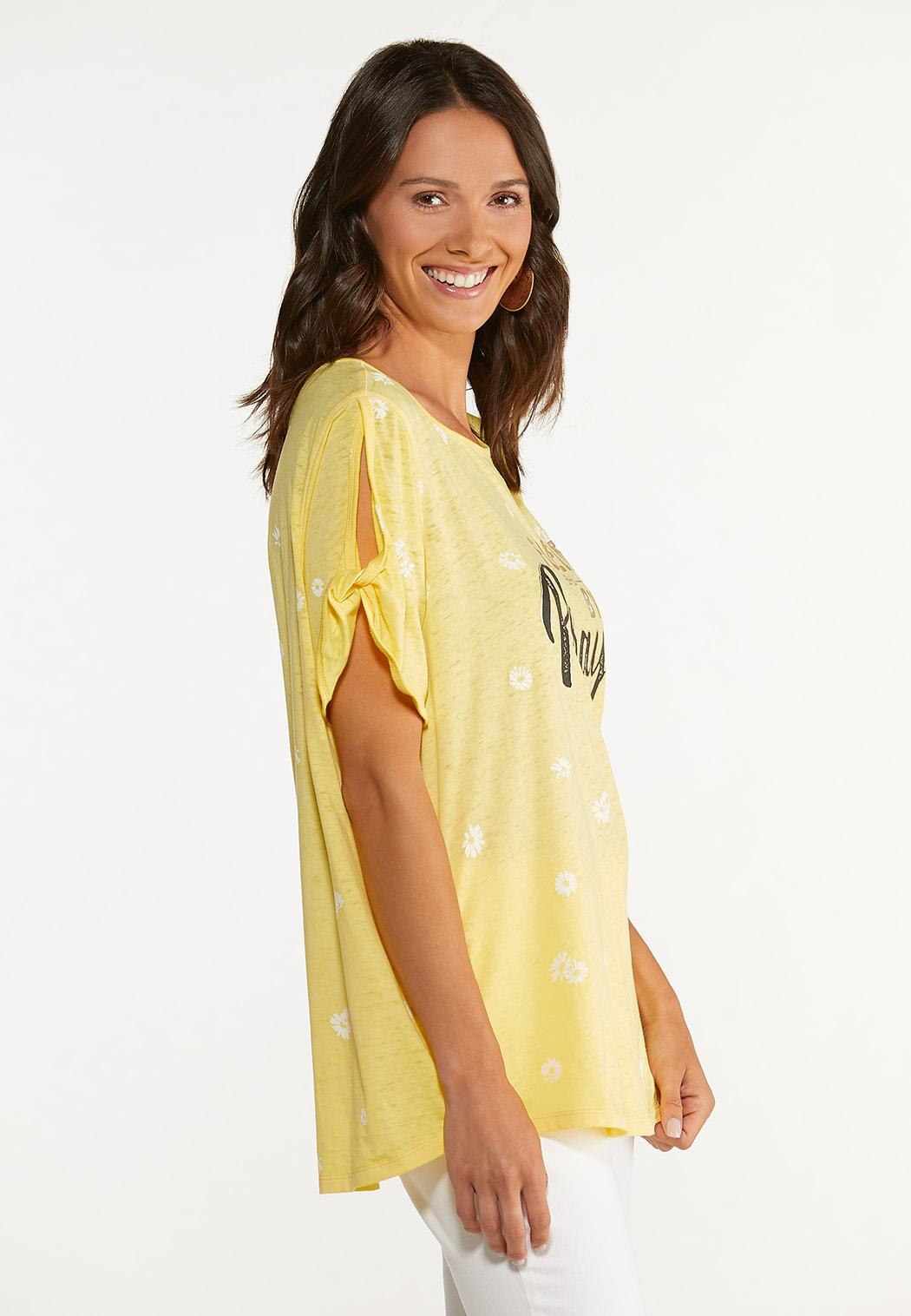 Plus Size Fueled By Prayer Tee (Item #44647349)