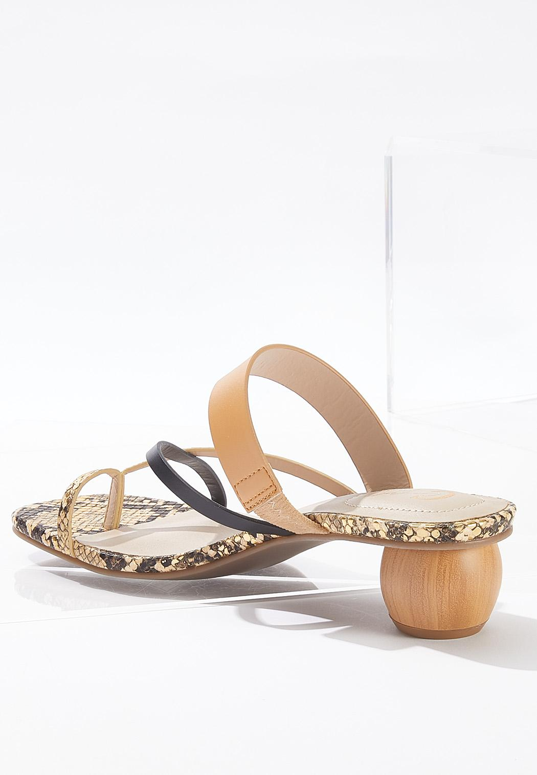 Strappy Square Toe Sandals (Item #44647976)