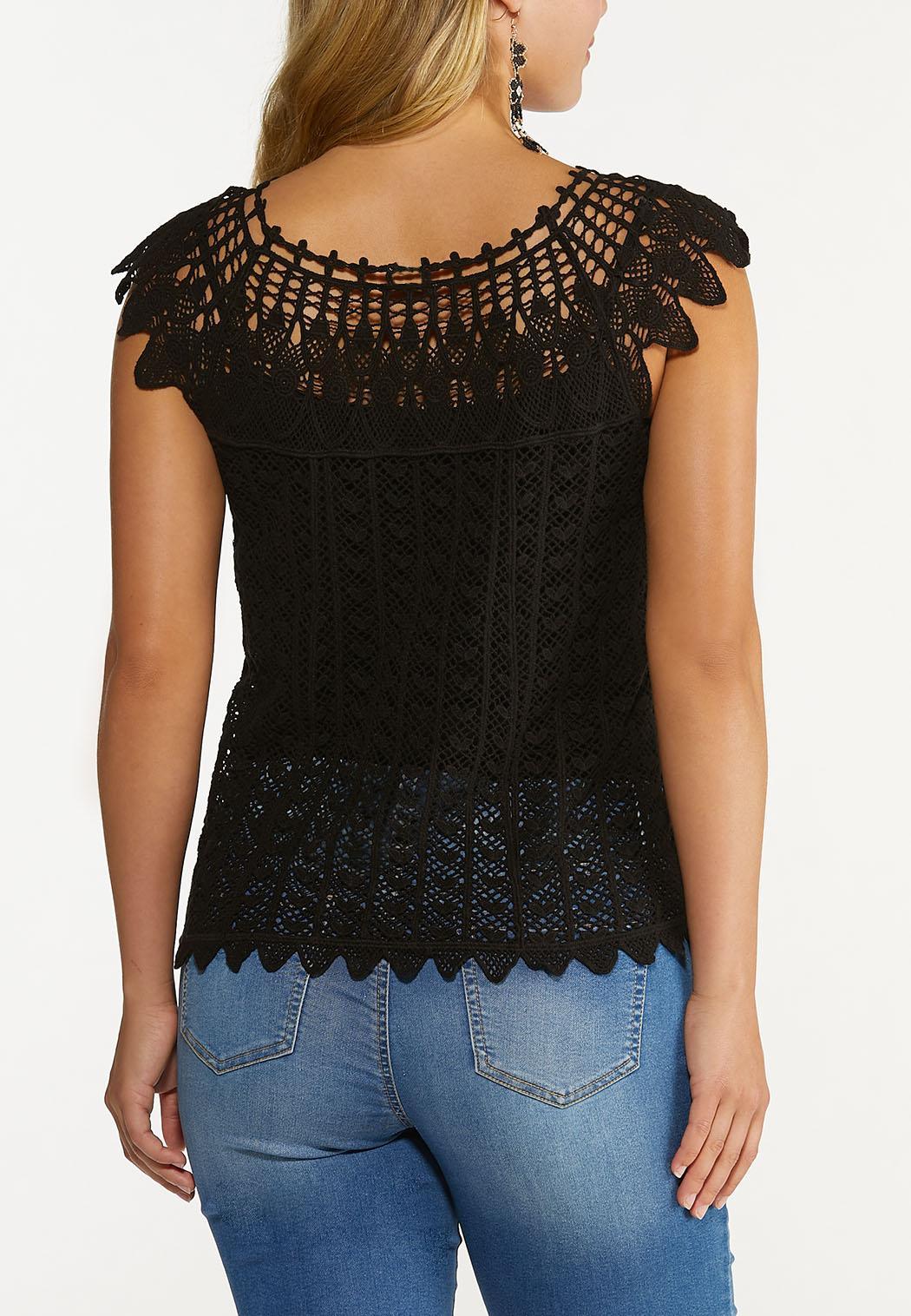 Crochet Pullover Top (Item #44648920)