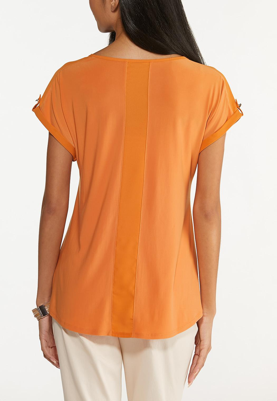 Button Sleeve Top (Item #44650562)