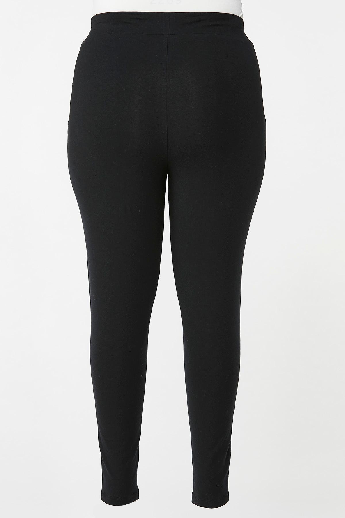 Plus Size Net Backing Leggings (Item #44651007)
