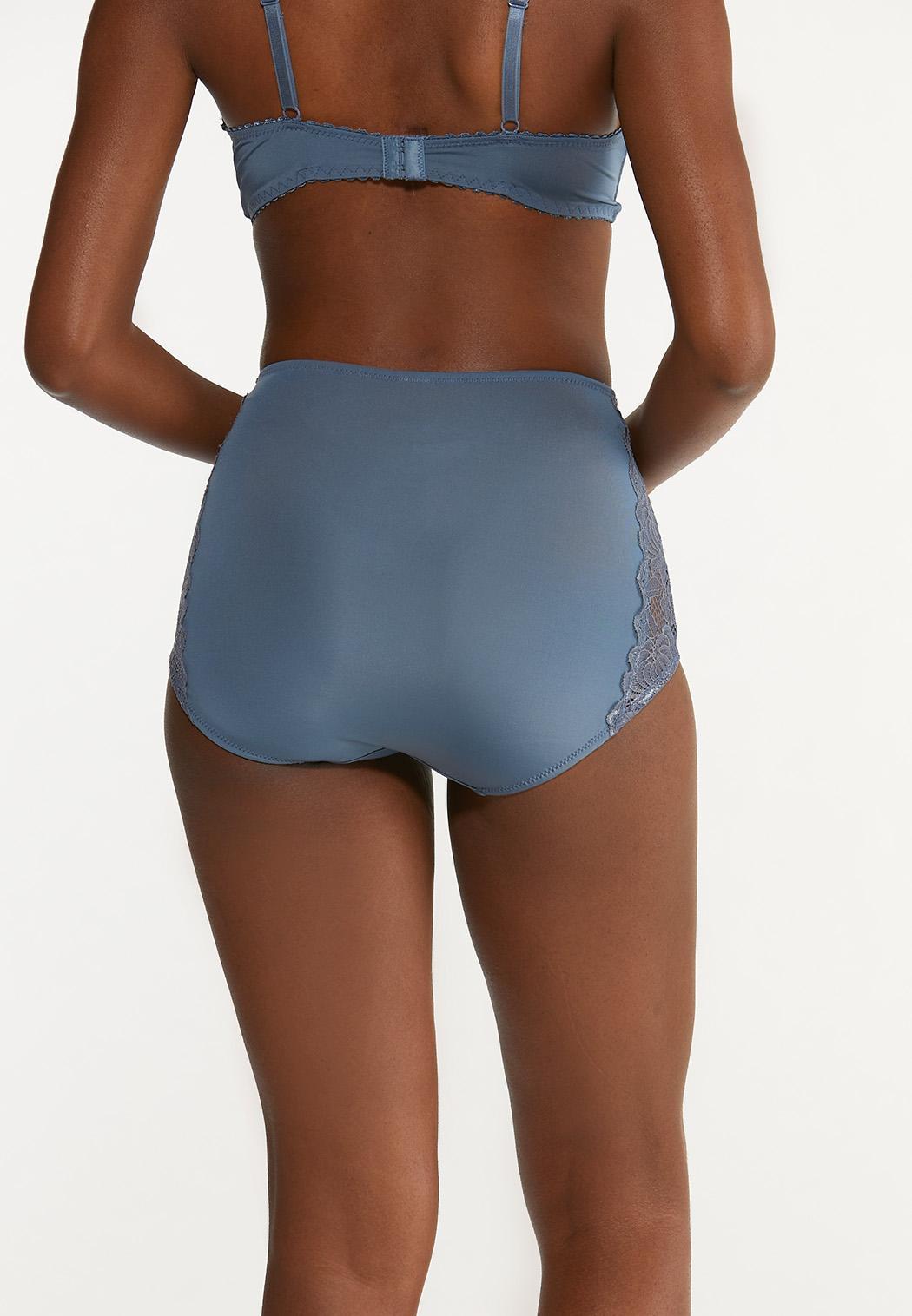 Plus Size High Waist Brief Panty Set (Item #44651070)