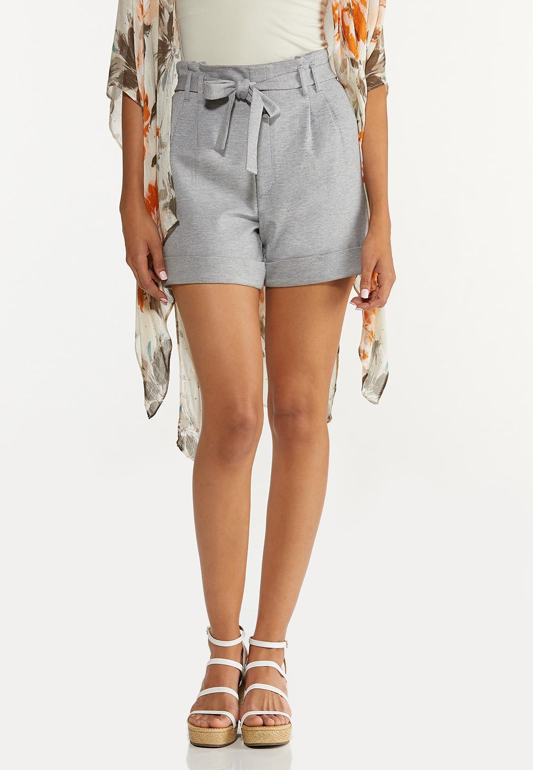 Ponte Cuff Shorts (Item #44651214)
