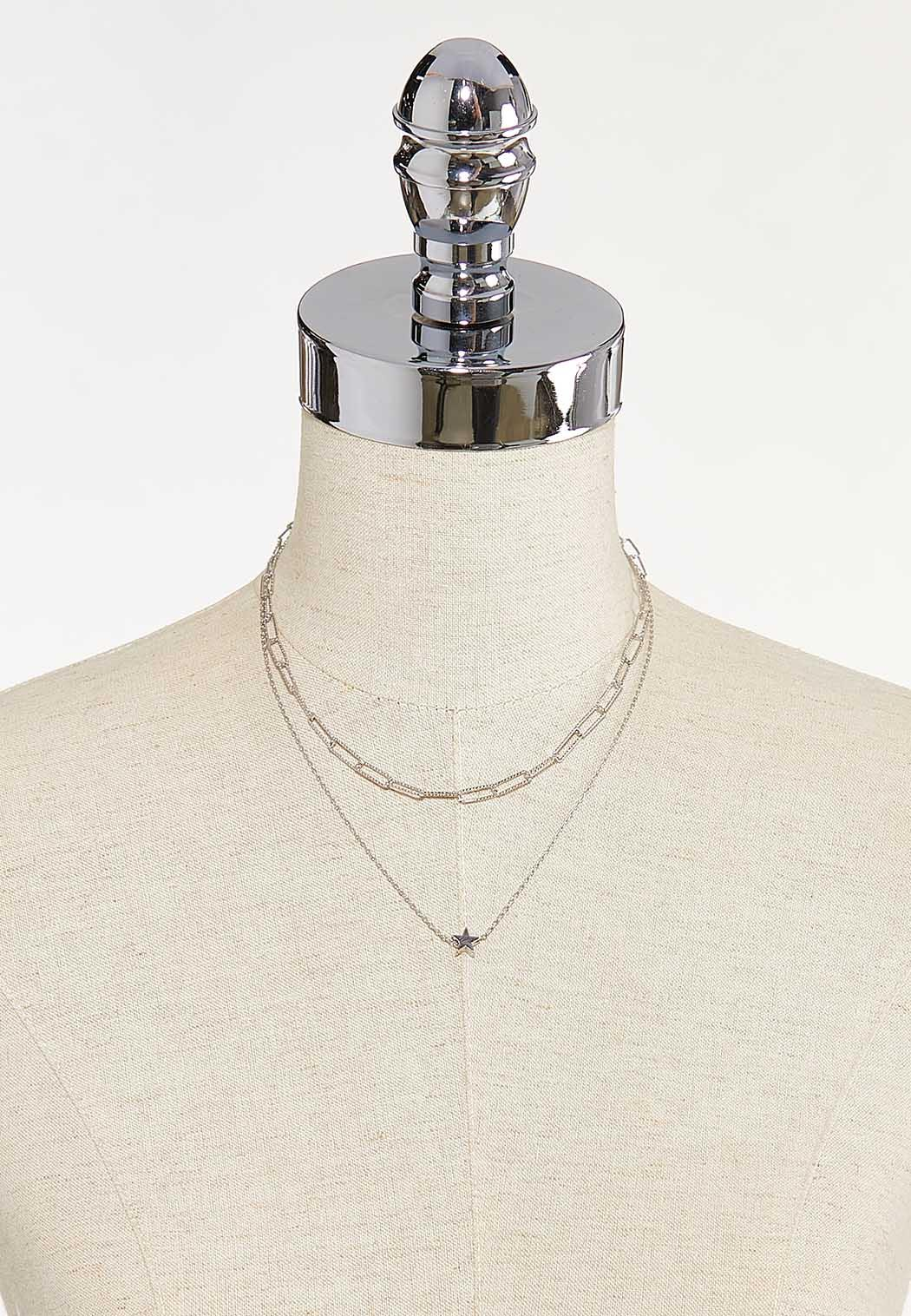 Delicate Star Layered Necklace (Item #44651362)