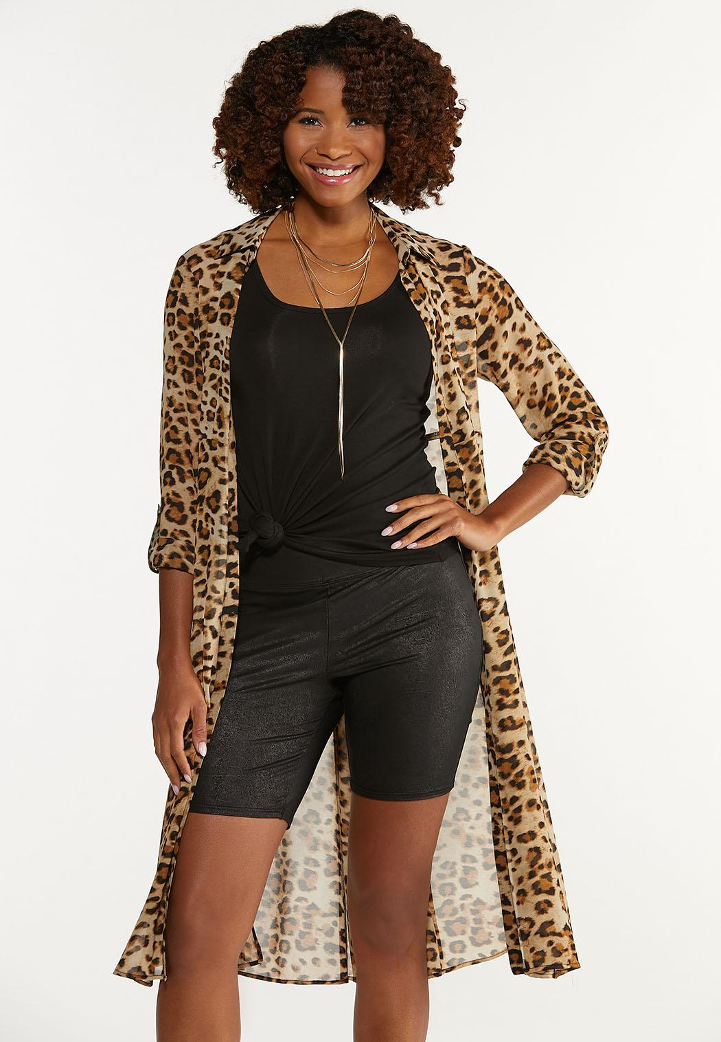Coated Biker Shorts (Item #44651415)