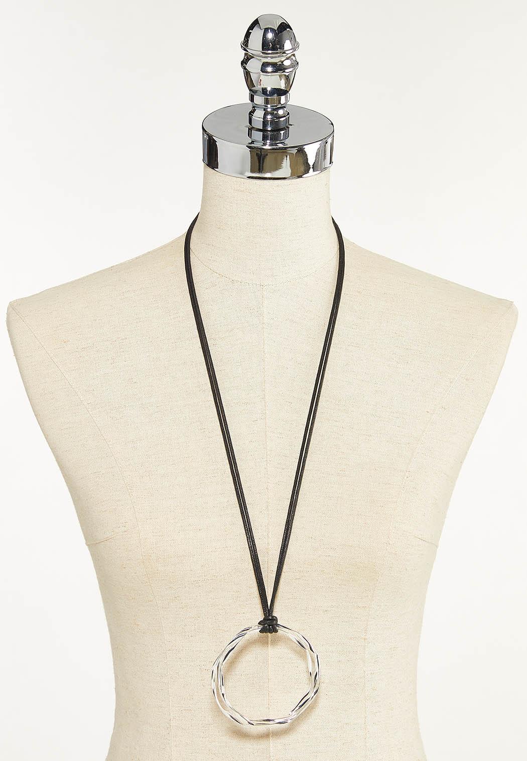 Orbital Pendant Cord Necklace (Item #44652113)