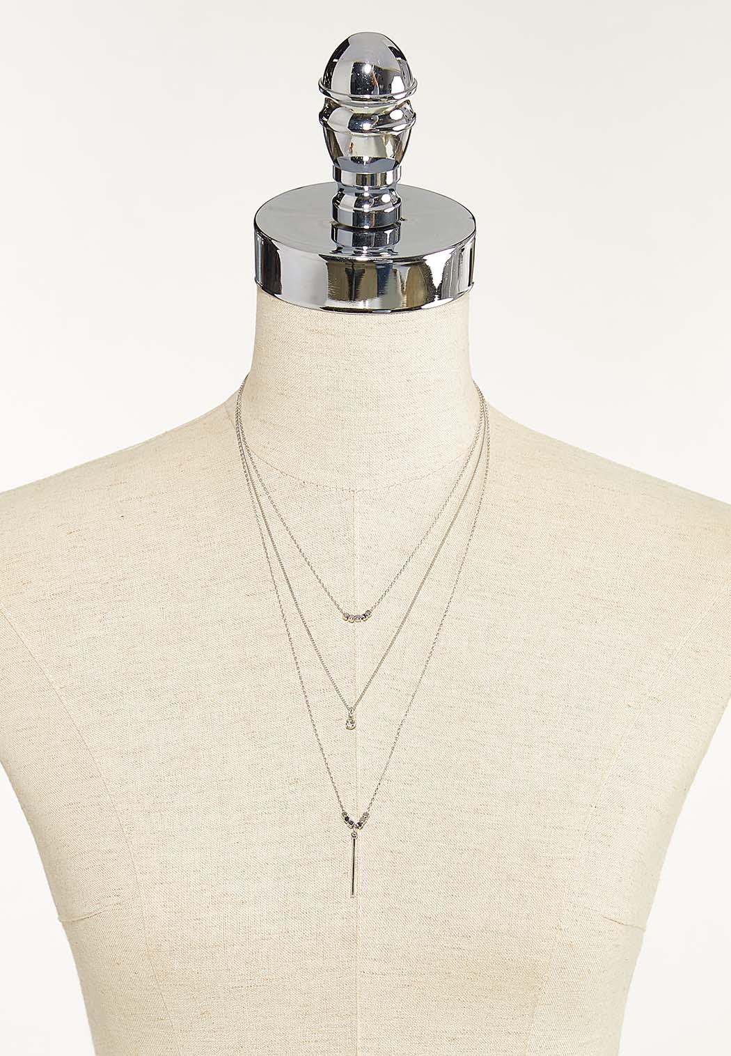 Layered Linear Bar Necklace (Item #44652124)