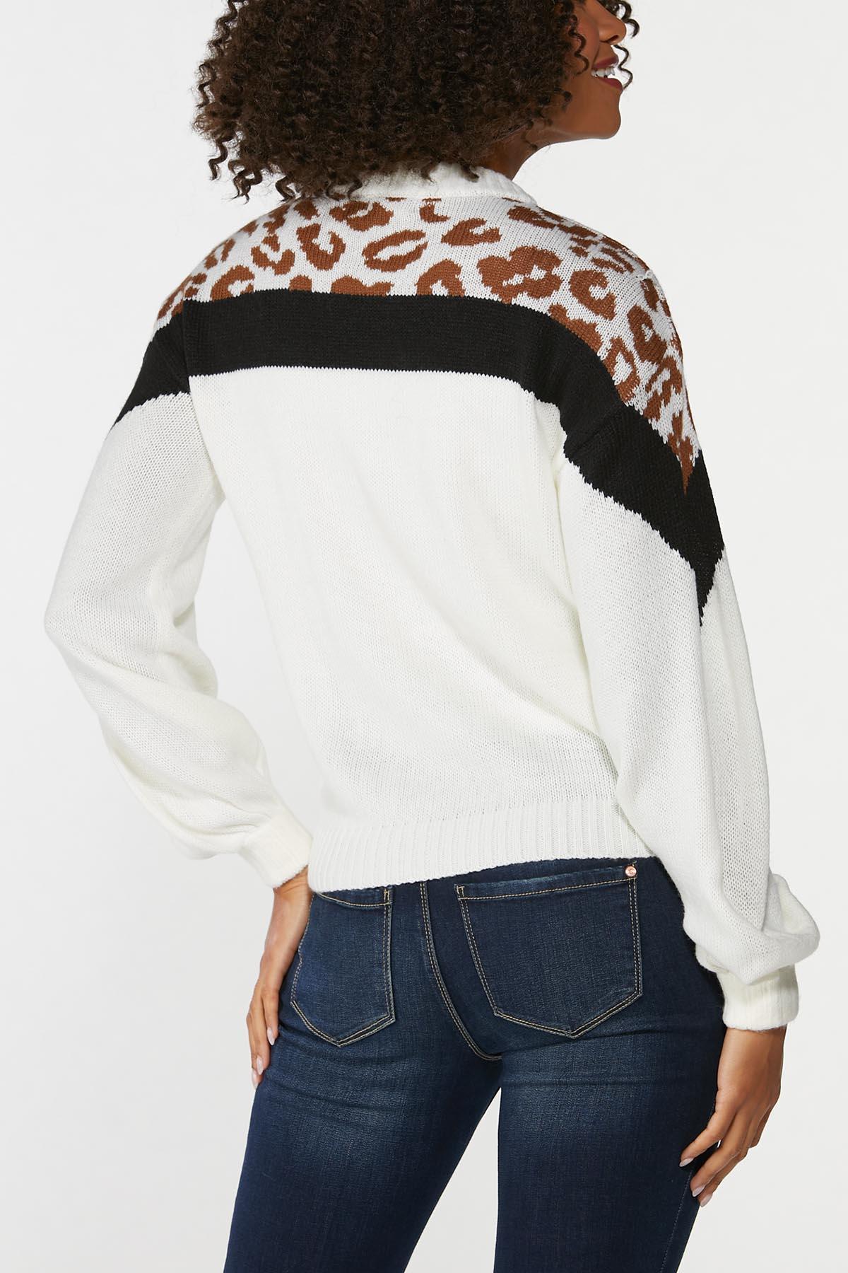 Animal Colorblock Sweater (Item #44655442)