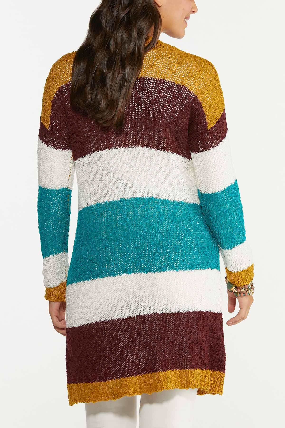 Colorblock Cardigan Sweater (Item #44655570)