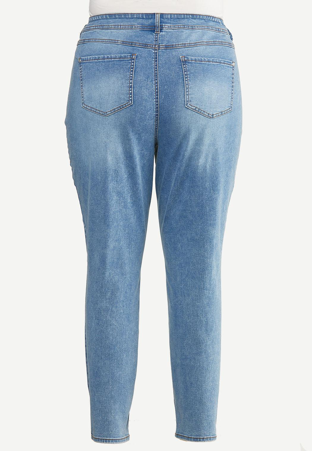 Plus Size Super Stretch Skinny Jeans (Item #44655817)