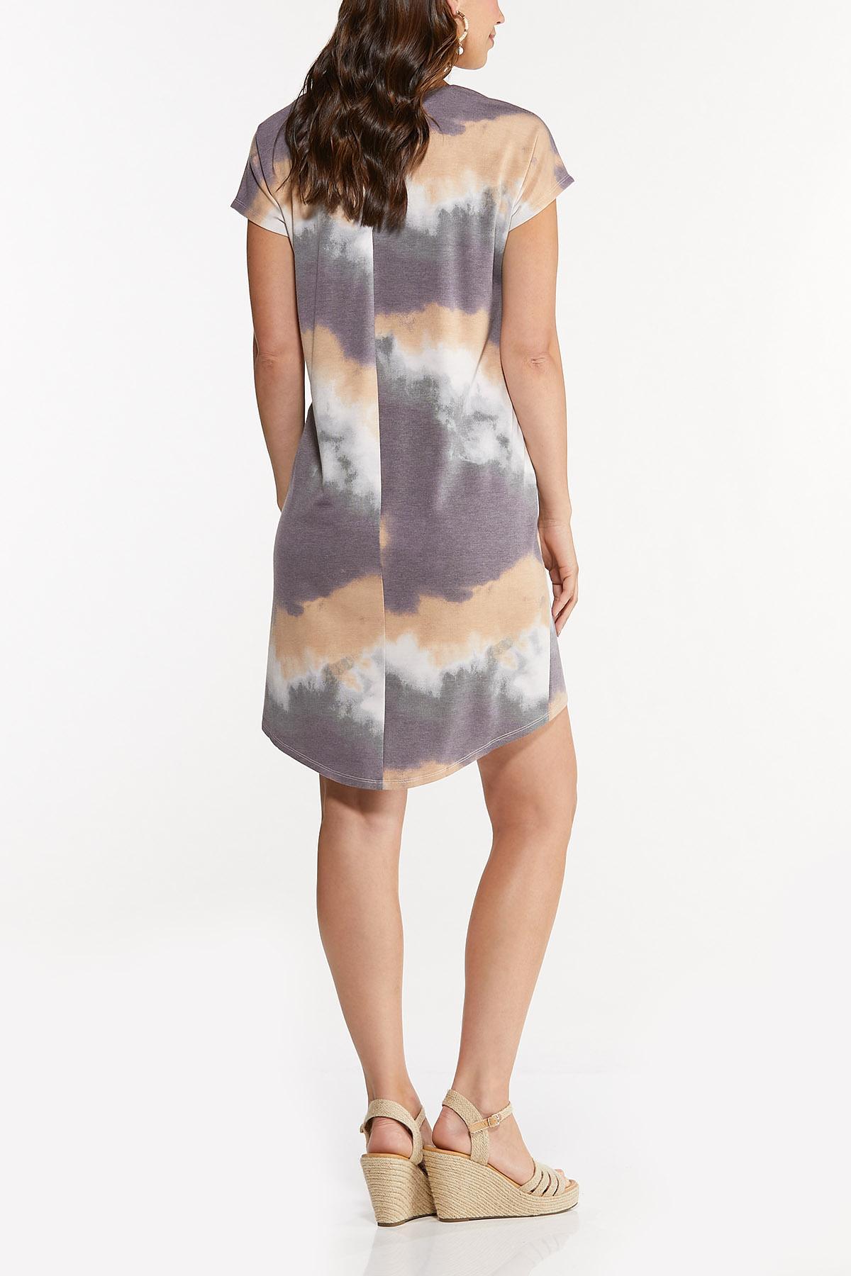 Wine Tie Dye Dress (Item #44656036)