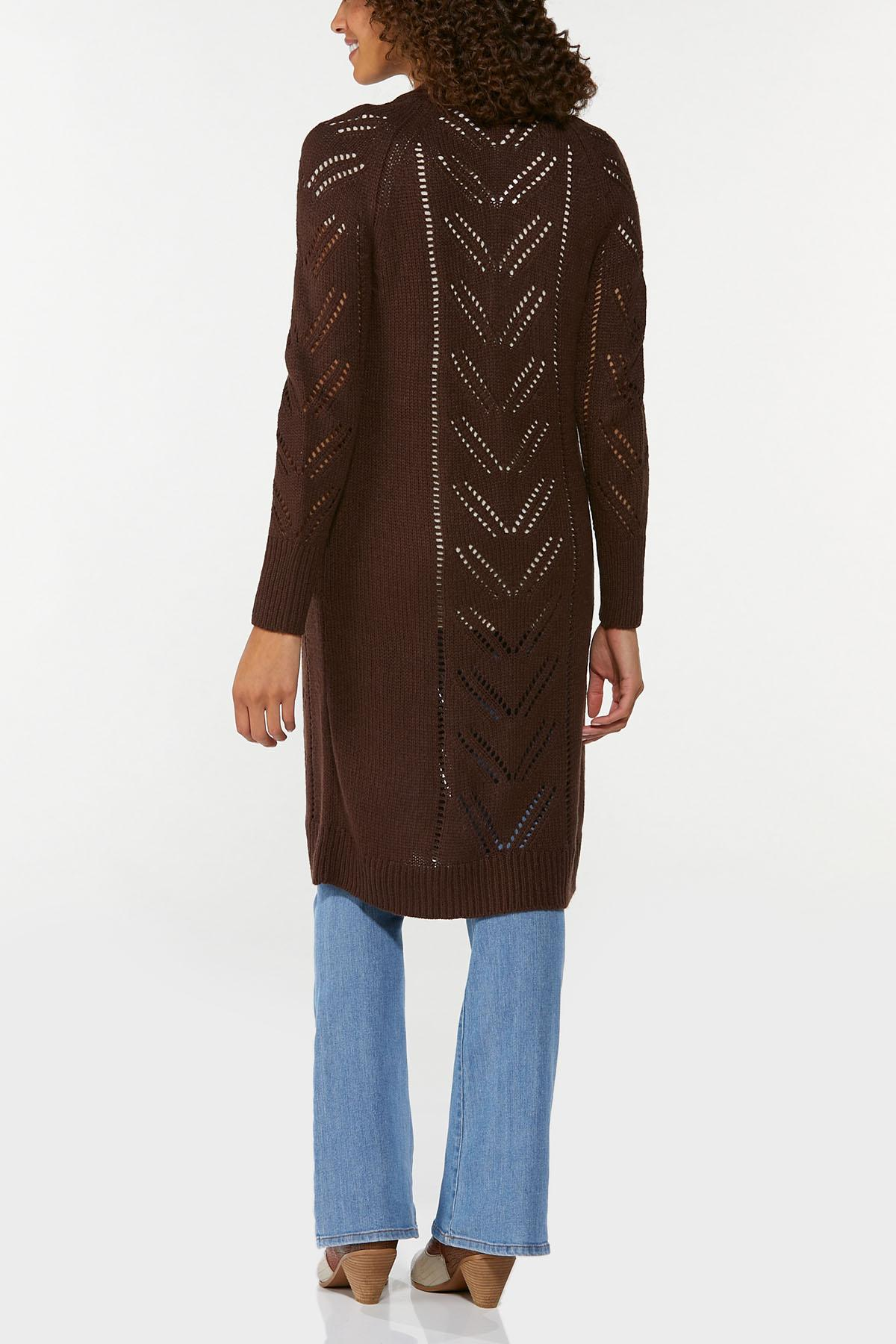 Pointelle Sweater Duster (Item #44656283)