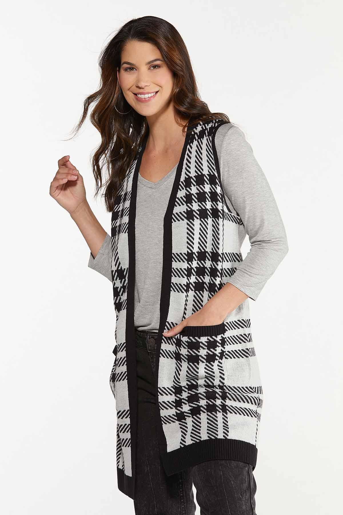 Houndstooth Sweater Vest (Item #44656381)