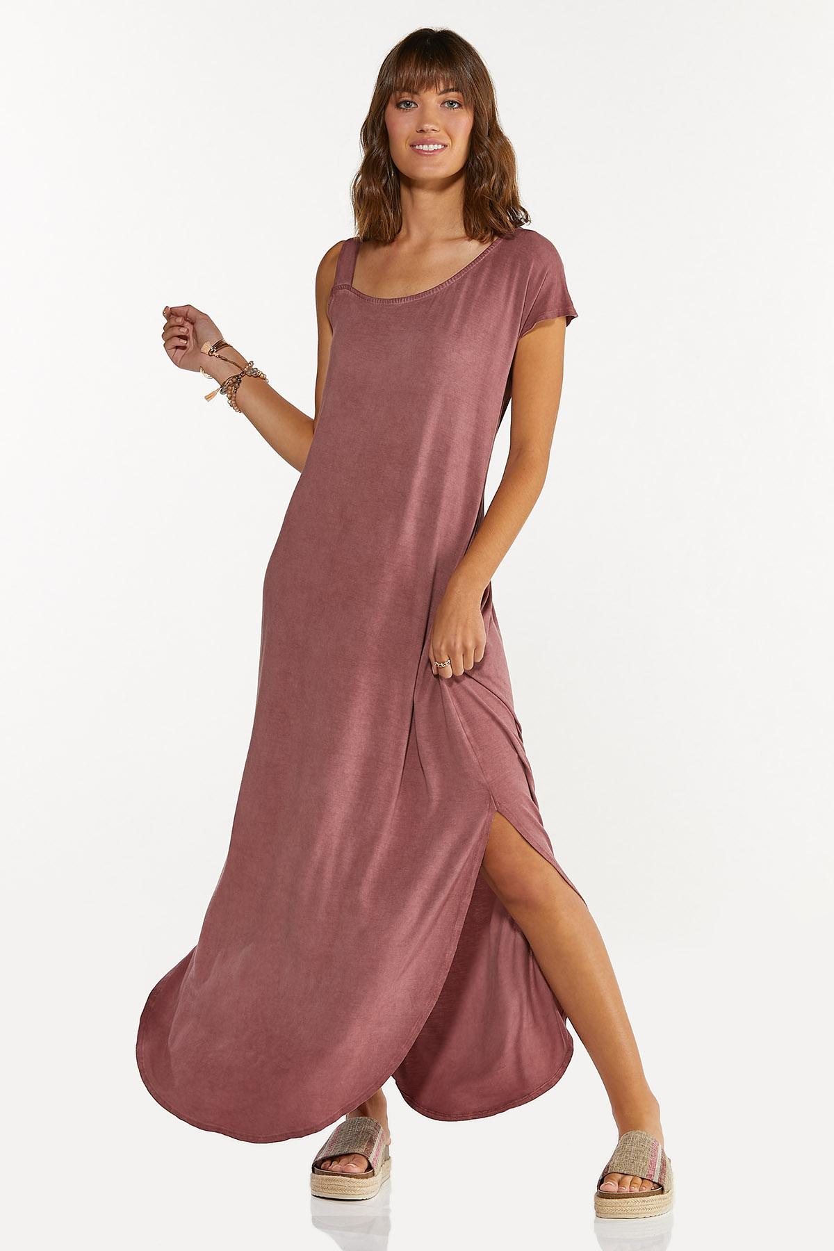 Plus Size One Shoulder Maxi Dress (Item #44656562)