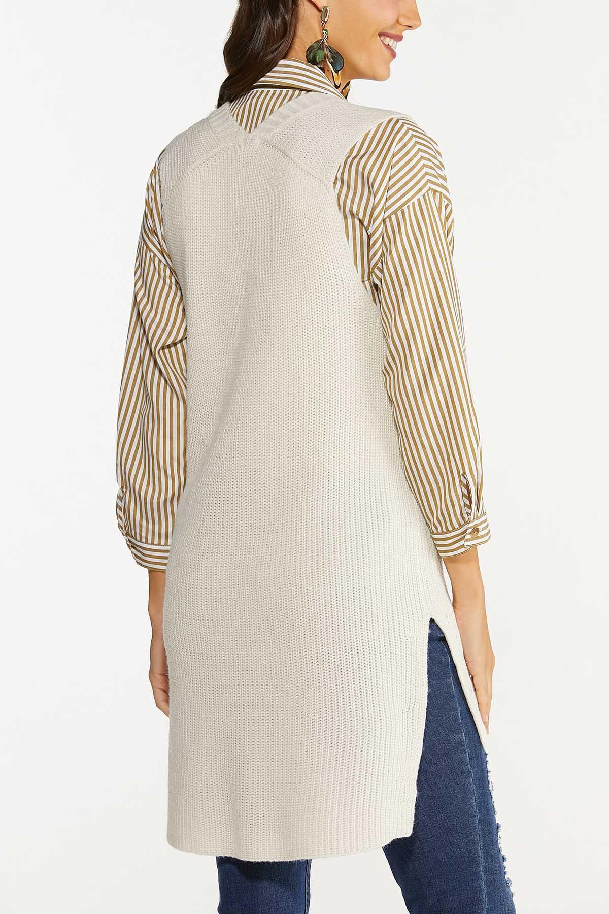 Plus Size Pullover Sweater Vest (Item #44656989)