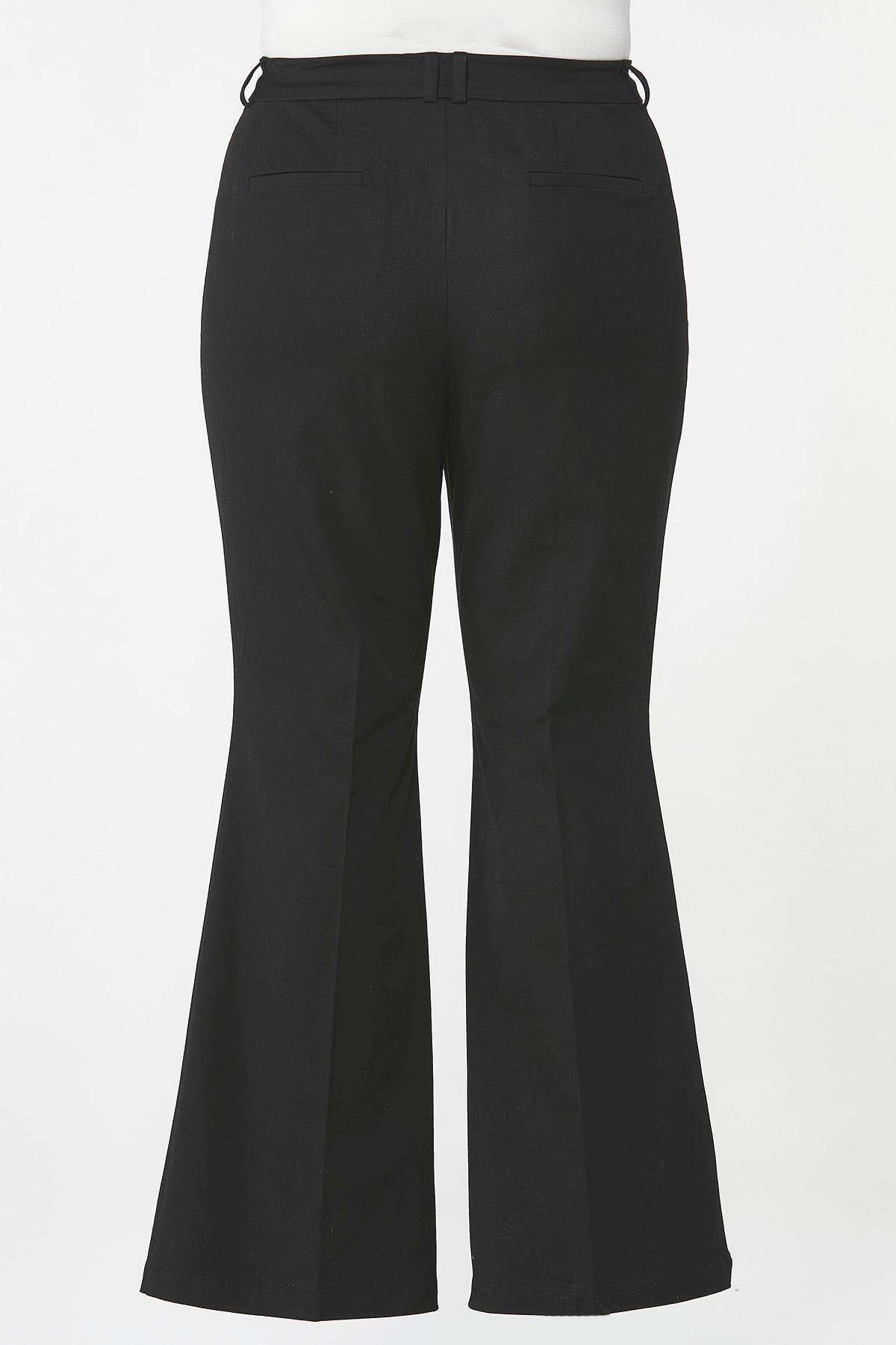 Plus Size Getaway Flare Leg Pants (Item #44658666)