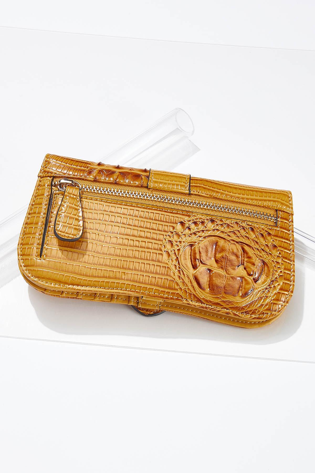 Golden Buckle Snap Wallet (Item #44658917)