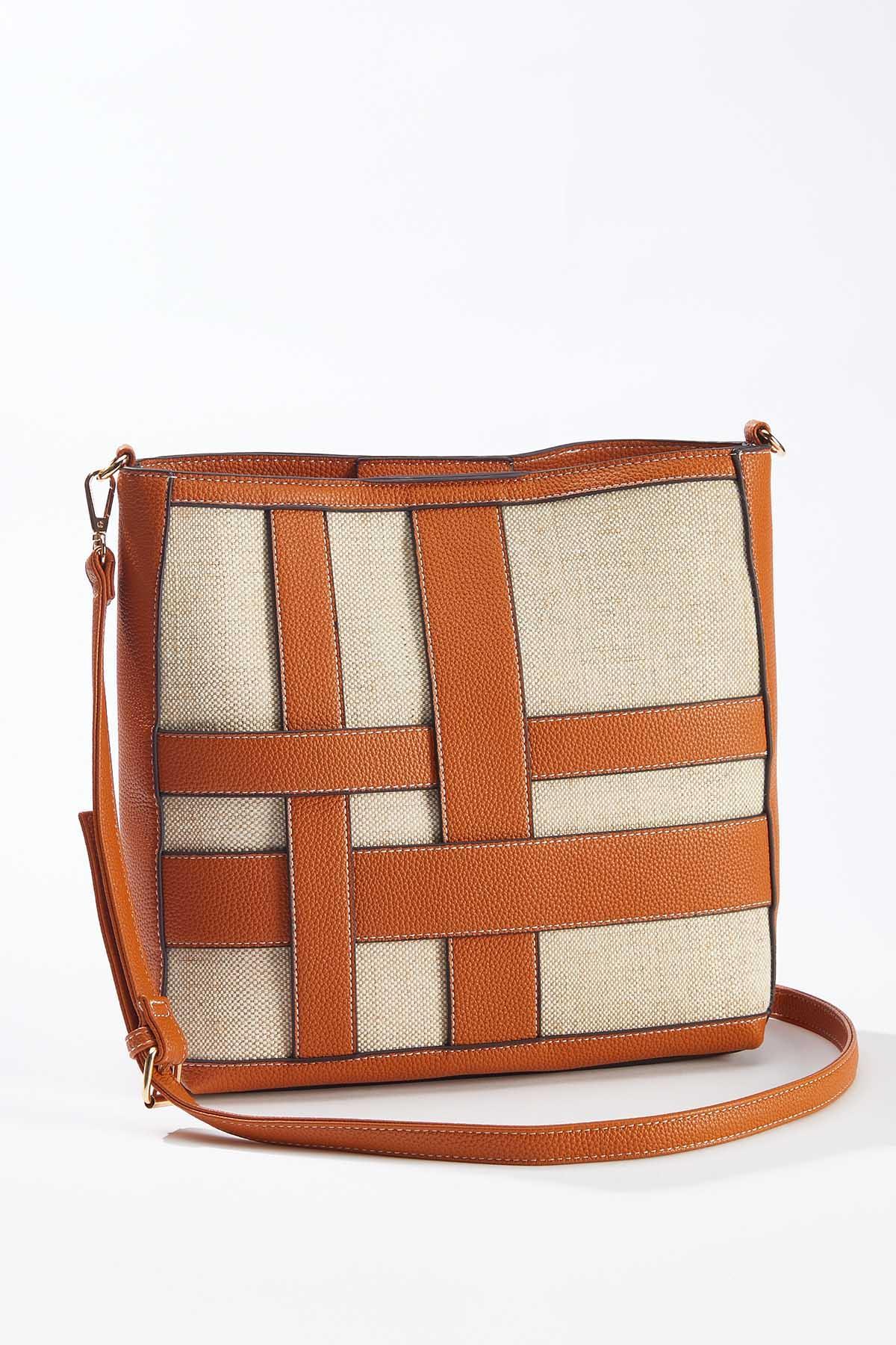 Interwoven Tote Handbag (Item #44658981)