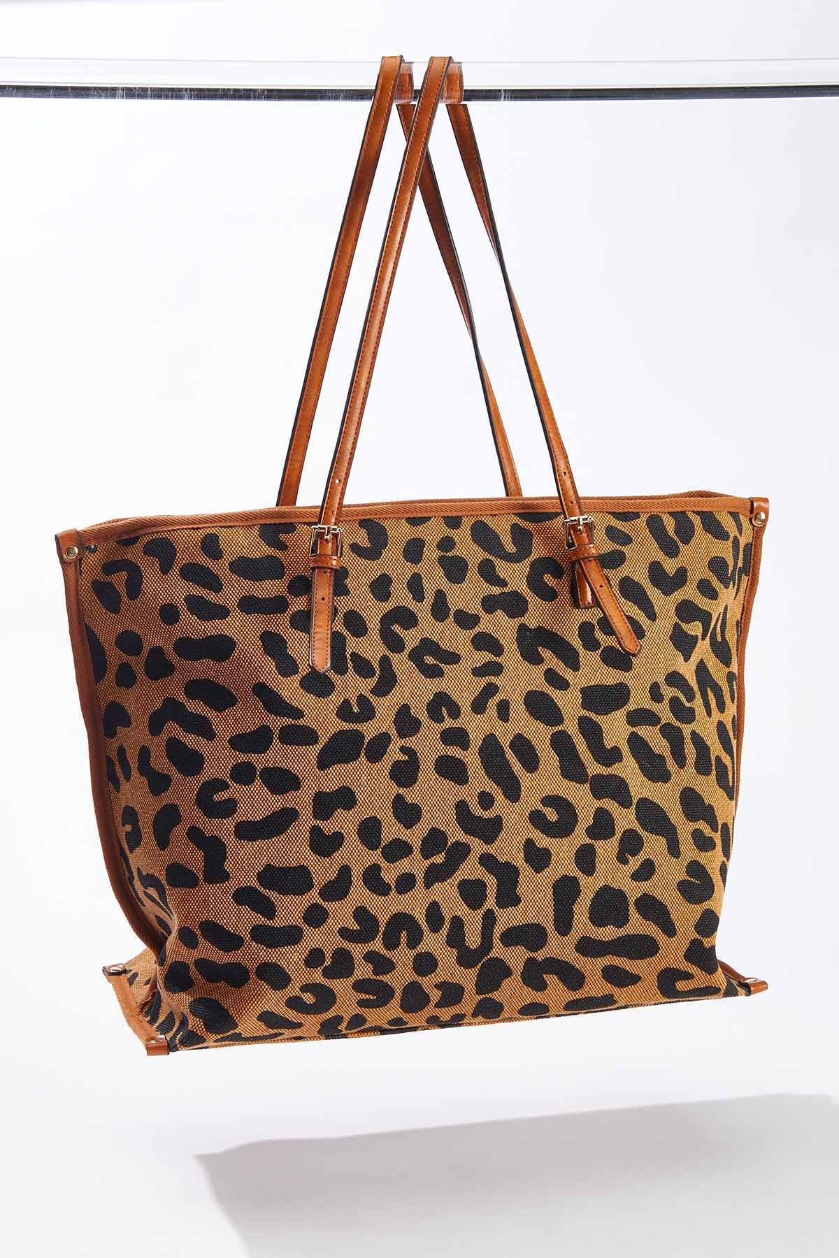 Leopard Mix Tote (Item #44659045)