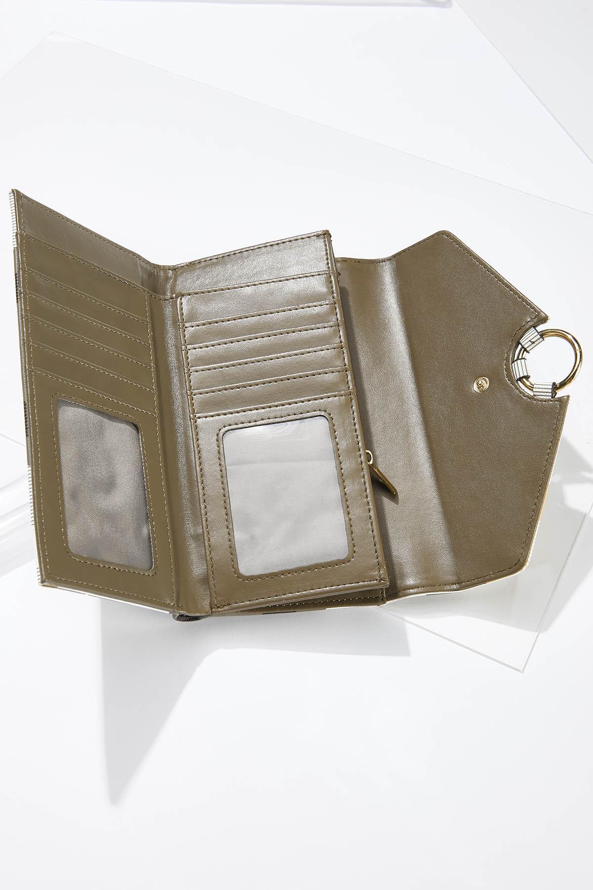 Plaid Wristlet Wallet (Item #44659163)