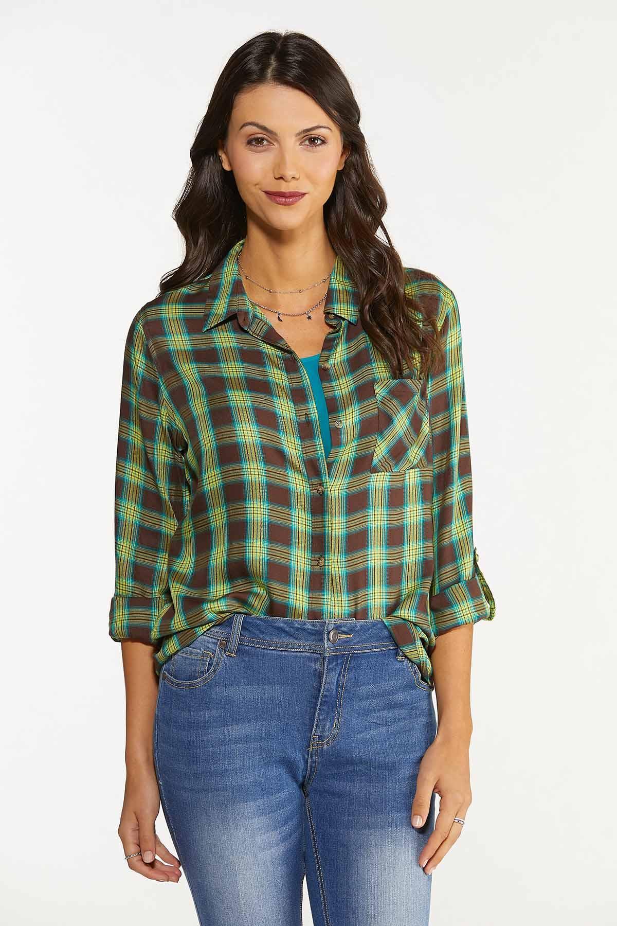 Fields Of Green Plaid Shirt (Item #44659816)
