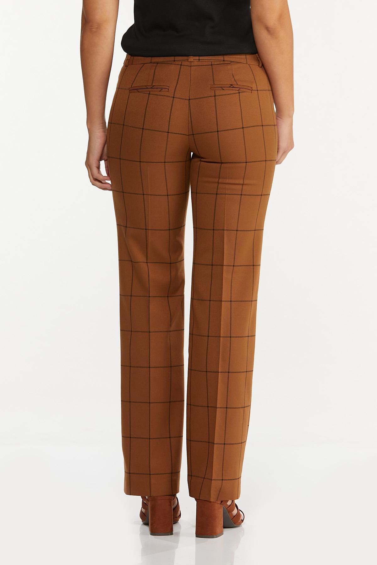Windowpane Trouser Pants (Item #44661275)