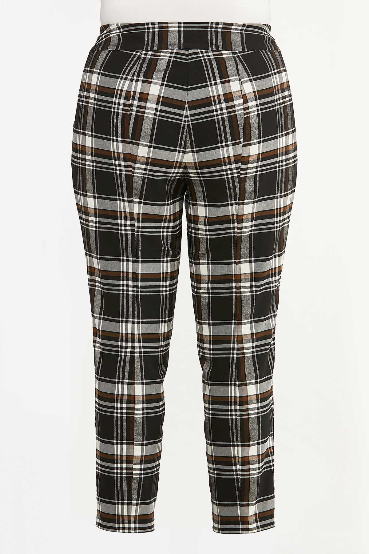 Plus Size Neutral Bengaline Pants (Item #44661342)