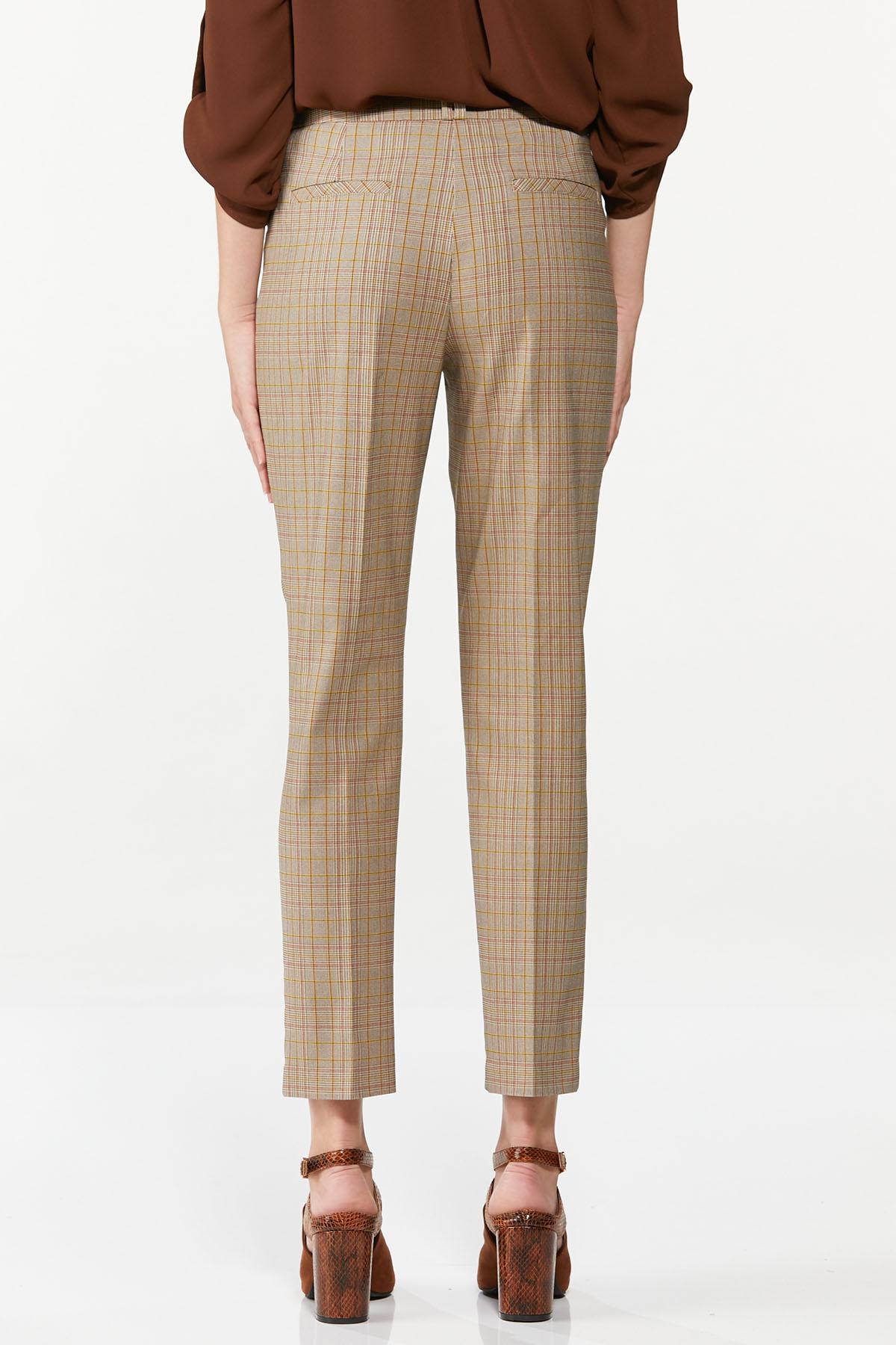 Slim Plaid Pants (Item #44661363)