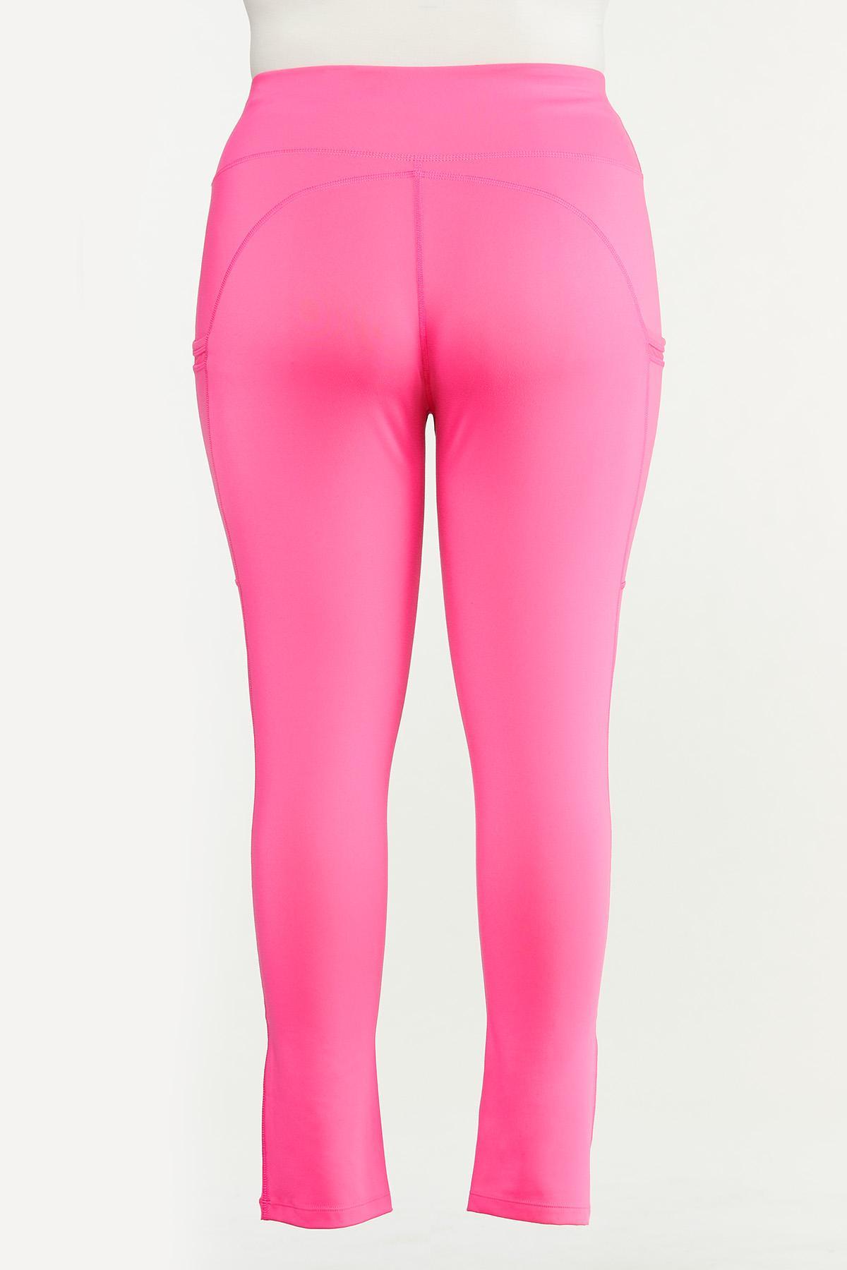 Plus Size Pocket Leggings (Item #44661648)