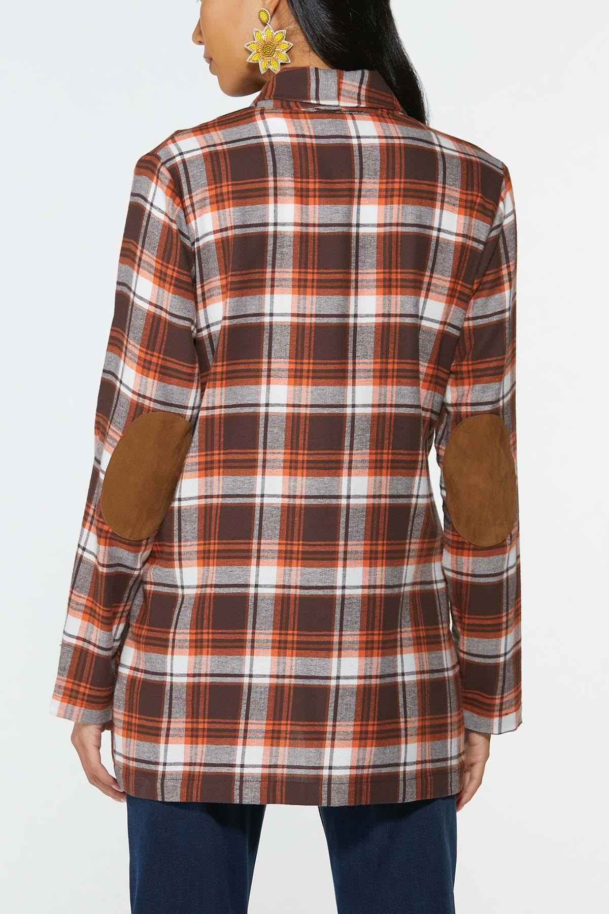 Fireside Plaid Shirt Jacket (Item #44662057)
