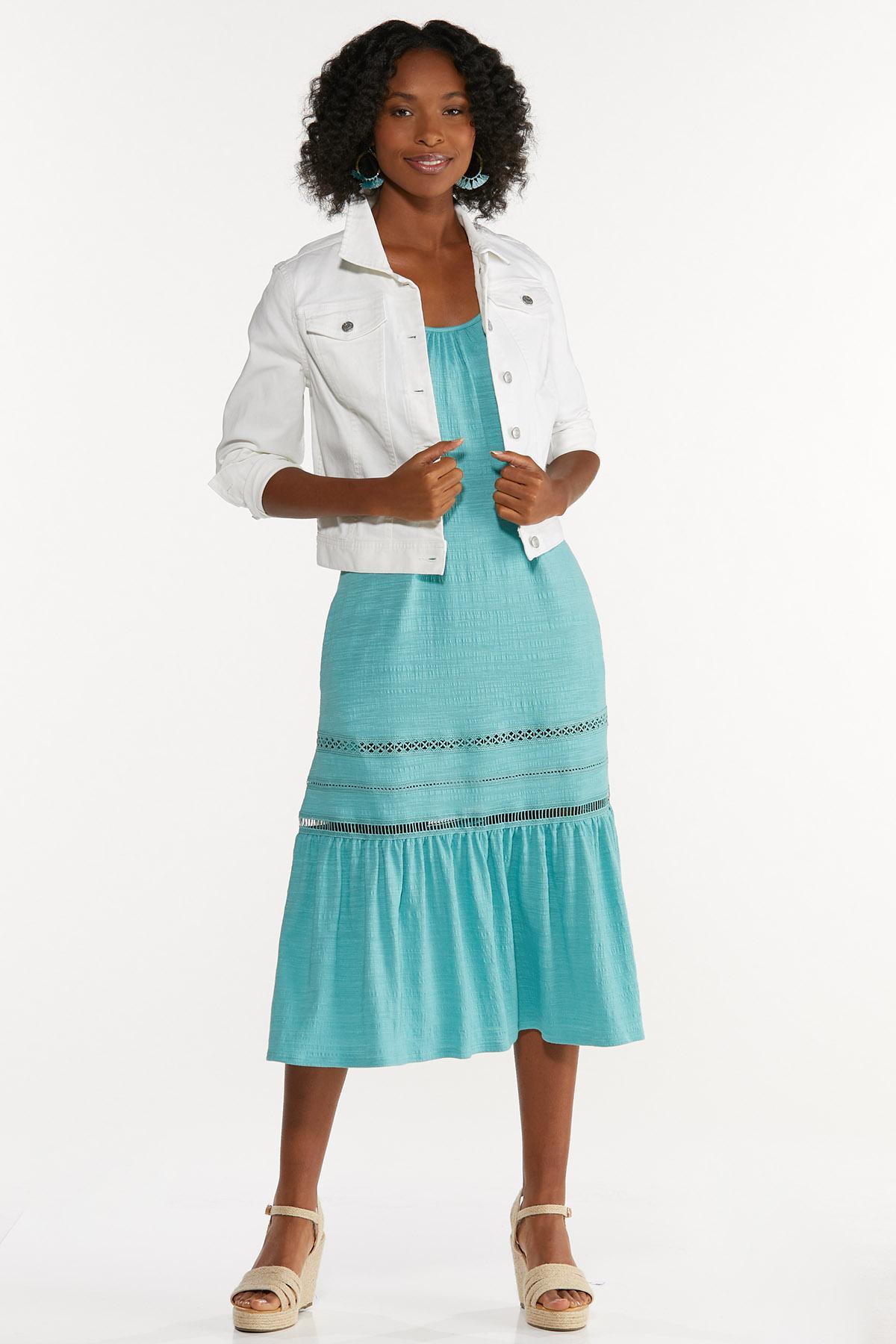 Textured Midi Dress (Item #44662159)