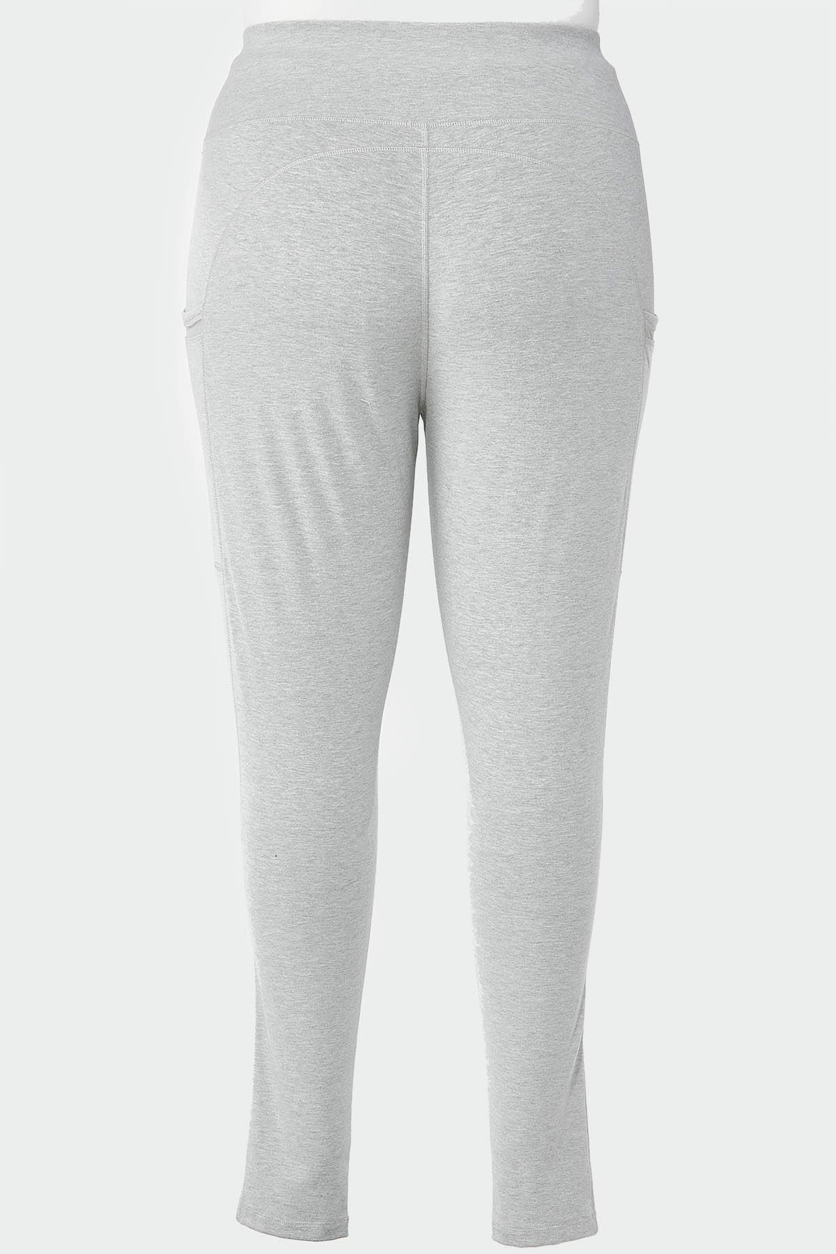 Plus Size Mesh Pocket Leggings (Item #44662220)