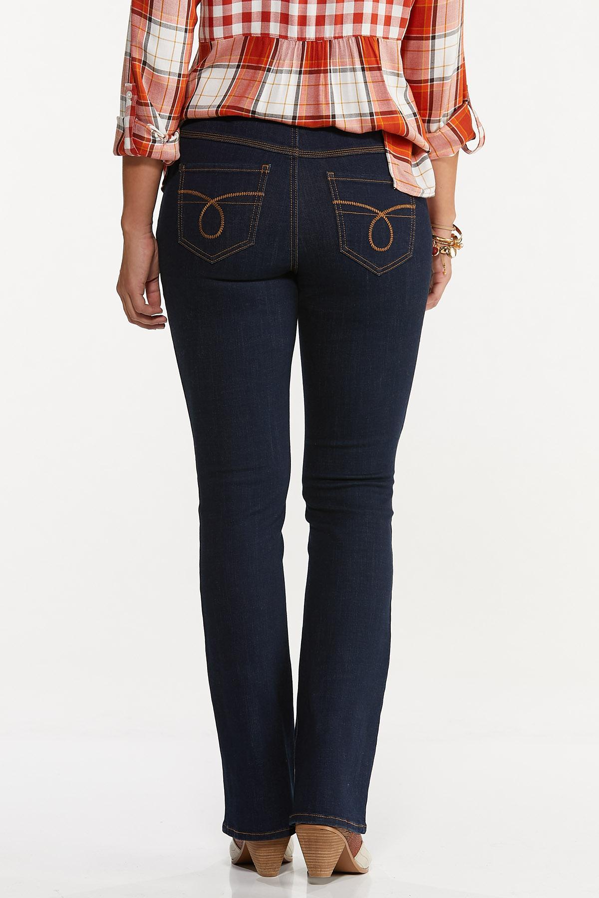 Dark Bootcut Jeans (Item #44662367)